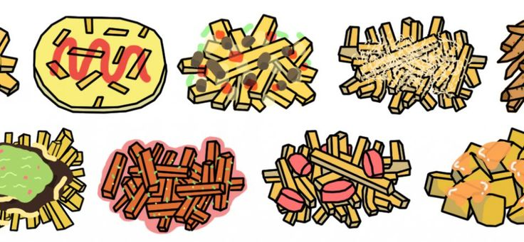 The French Fry Toppings of the World