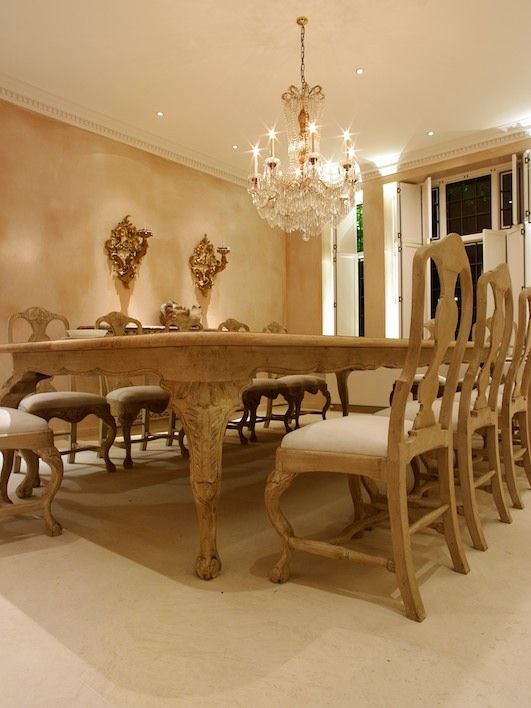 Amazing dining room with swedish style dining table and for Swedish style dining chairs