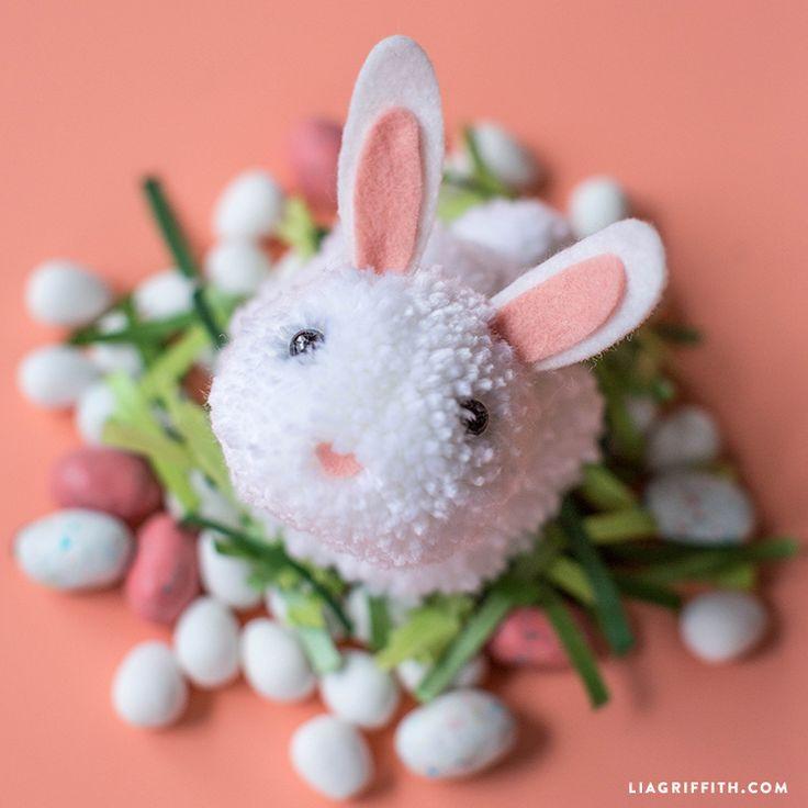 Fai da te Pom Pom Bunny
