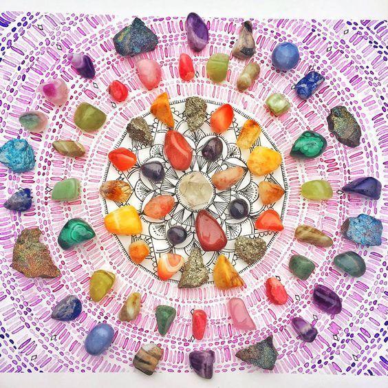 10 puissants cristaux qui vous rendront plus heureux et en meilleure santé Image crédit : pinterest 10