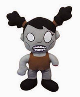 Peluche Chica Zombie | Peluches Originales