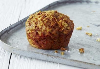 Muffins épicés aux carottes et aux pommes