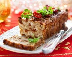Cake dinde, chèvre et tomates séchées