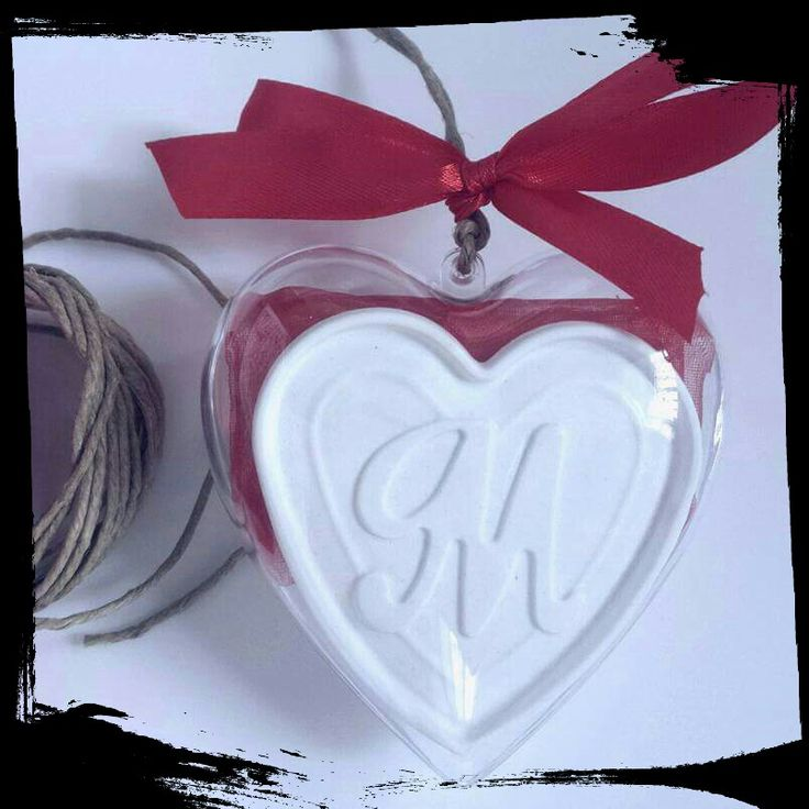 Cuore in plexiglass Love