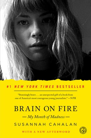 To Hell and Back Review: Brain On Fire: My Month of Madness. Suppose you thought that you were losing your identity—changing almost overnight and doing things you could not explain? This inexplicable scenario helps launch Brain on Fire: My Month of Madness, in which Susannah Cahalan chronicles her experience with the rare disorder anti-NMDA- receptor encephalitis.