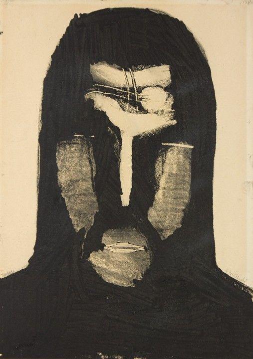 Andrzej Wróblewski, Face, 1957