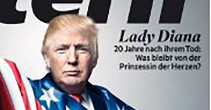 A German news magazine just gave us the most shocking Donald Trump cover yet