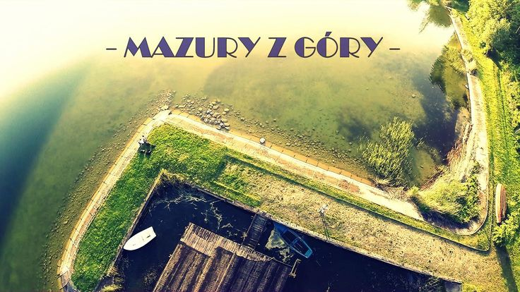 My new aerial video: Masurian Lake District in Poland - check out this beautiful place! Have fun!