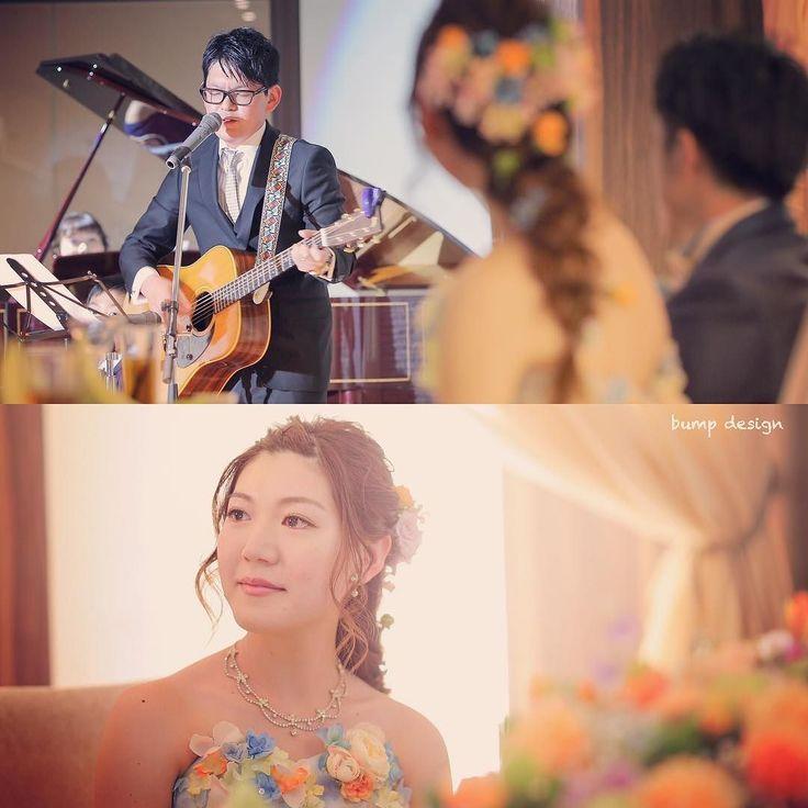 #プレゼント  余興では新婦さんのお兄さんから歌のプレゼント  お兄さんご家族は普段からオリジナルの曲を作ってアーティストして活動されているそうで歌われていた曲もすっごく温かくて感動しました  そしてお兄さんは妹の事をすごく大切に想い新婦さんもお兄さんのことが本当に大好きなんだなと強く感じたとっても優しい時間でした  #結婚#結婚式#結婚写真#ブライダル#ウェディング#wedding#前撮り#ロケーション前撮り#ドレス#カメラマン#結婚式カメラマン#ブライダルカメラマン#写真家#結婚式準備#花嫁準備#花嫁#プレ花嫁#プロポーズ#ウェディングドレス#バンプデザイン#bumpdesign#instagramwedding#instagramjapan#イトウスグル#IGersJP#写真好きな人と繋がりたい #ファインダー越しの私の世界#日本中のプレ花嫁さんと繋がりたい
