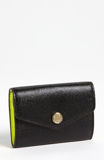 MICHAEL Michael Kors Saffiano Leather Coin Purse available at #Nordstrom