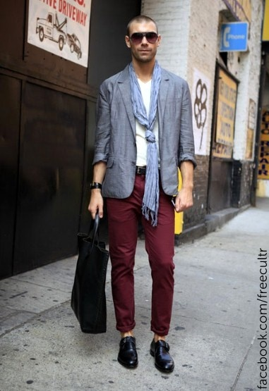 Menu0026#39;s street style from New York Fashion Week spring/summer 2013 | Menu0026#39;s Street Style from New ...