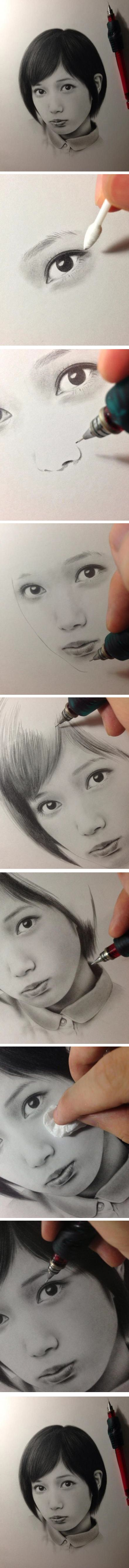 Awesomely realistic drawing