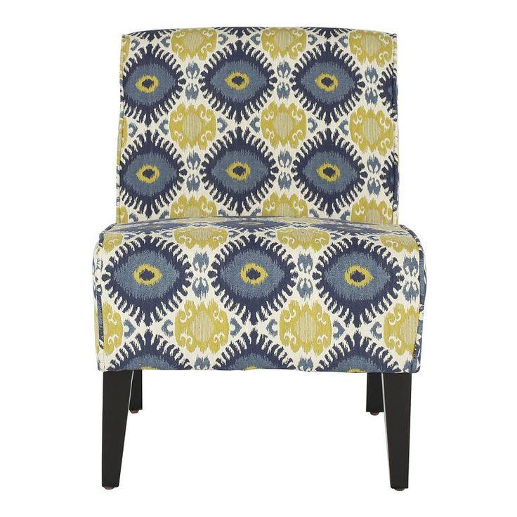 Best Safavieh Lisimba Armless Club Chair Eclectic Chairs 400 x 300
