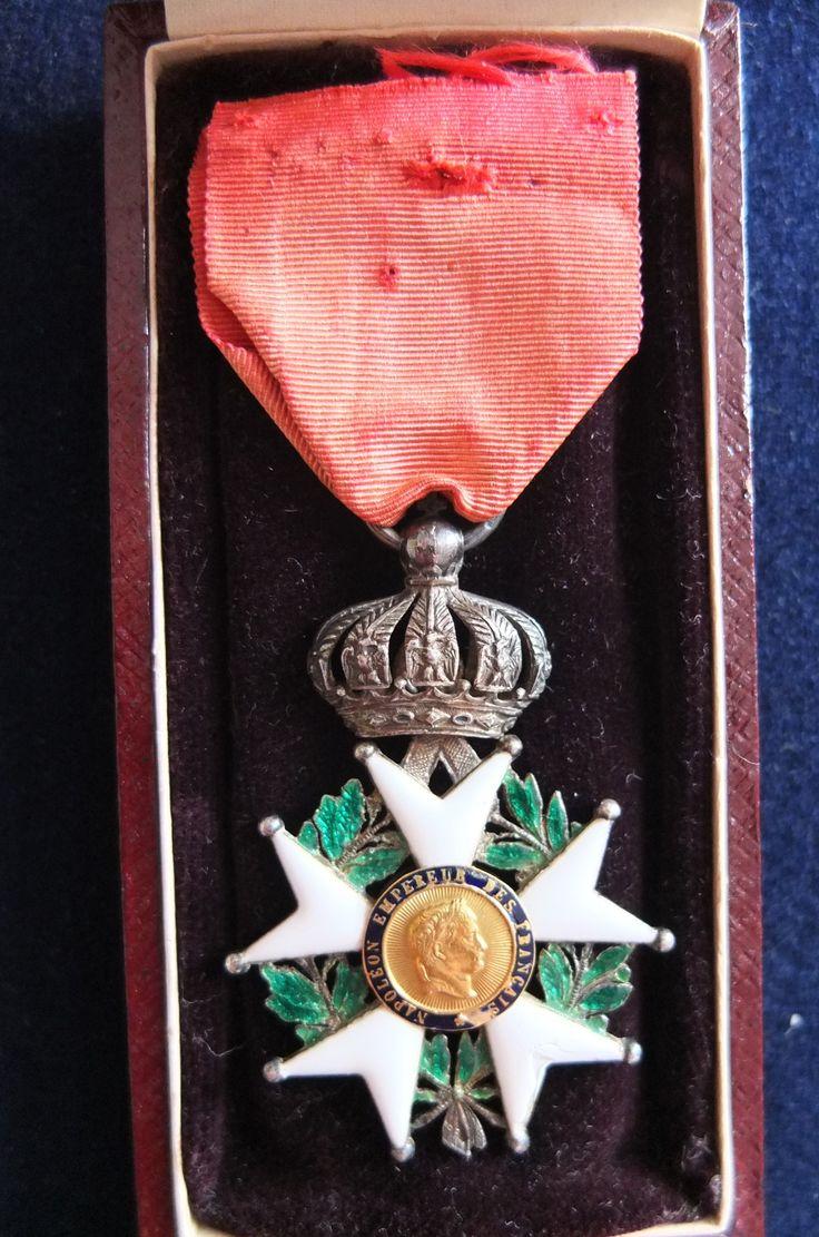 ordre de la l gion d 39 honneur 2nd empire croix de