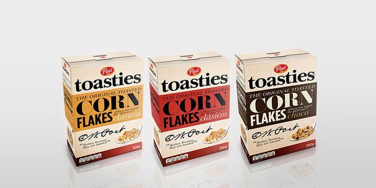Student: Post Toasties — The Dieline - Branding & Packaging
