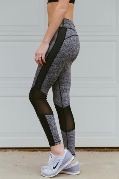 Work Hard, Play Hard- Grey Leggings - RaeLynns Boutique