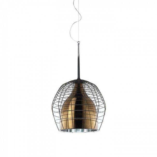 Cage Sospensione Hanglamp Bruin