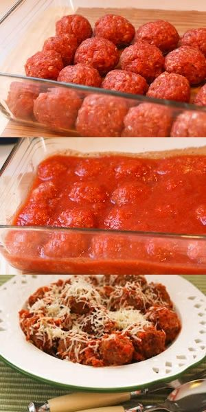 Beef and Sausage Meatballs in Tomato Sauce