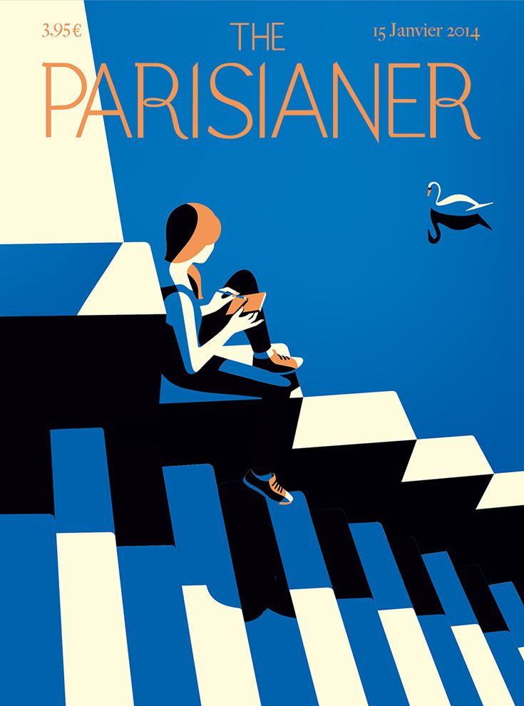 The Parisianer - Cover for the imaginary magazine The Parisaner