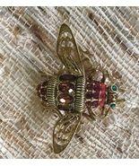 Joan Rivers Queen Size Bee Vintage Brooch - $22.50