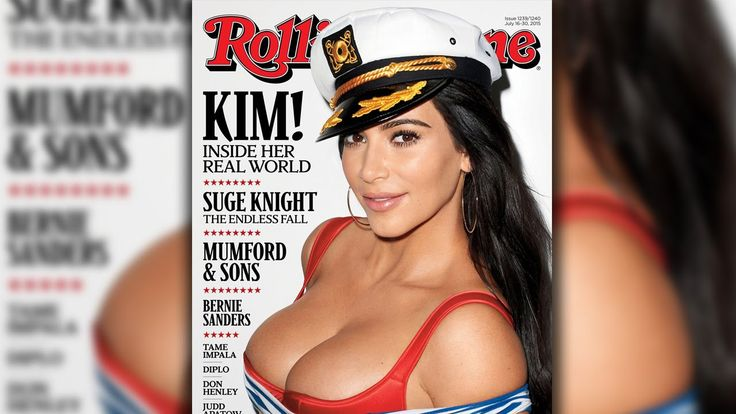 Kim Kardashian Busts Out For Rolling Stone & Rita Ora Okay With Taylor Swift - https://movietvtechgeeks.com/kim-kardashian-busts-out-for-rolling-stone-rita-ora-okay-with-taylor-swift/-The July issue of the Rolling Stone has been released with none other than Kim Kardashian as the cover girl. In a nautical theme set up, Kim graces the cover wearing a captain's hat and probably the most revealing shirt she could find.