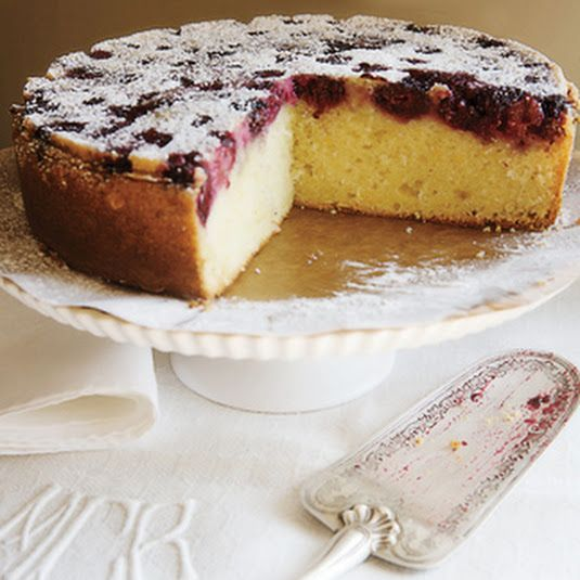 Best Blackberry Buttermilk Cake