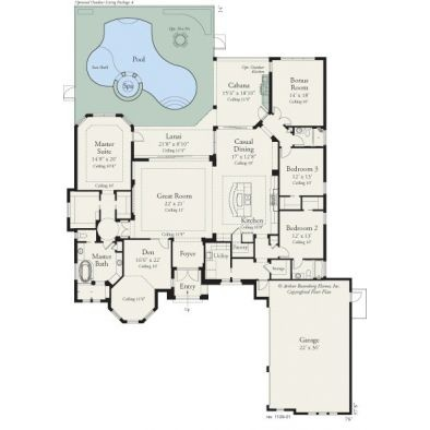 #ARHomes Bermuda 1129: View All Our Custom Luxury Home Plans Available At  Www.