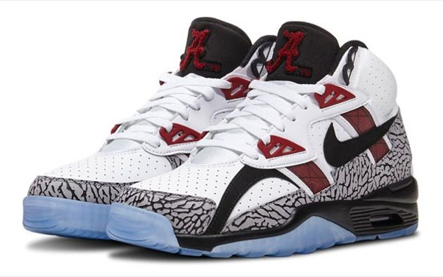 #nike air trainer sc high alabama #football #Sneakers