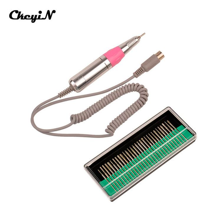 30000RPMStainless Steel Nail Drill Handle Handpiece + 30pcs Nail Art Drill Bits Electric Manicure Pedicure Machine Accessories49
