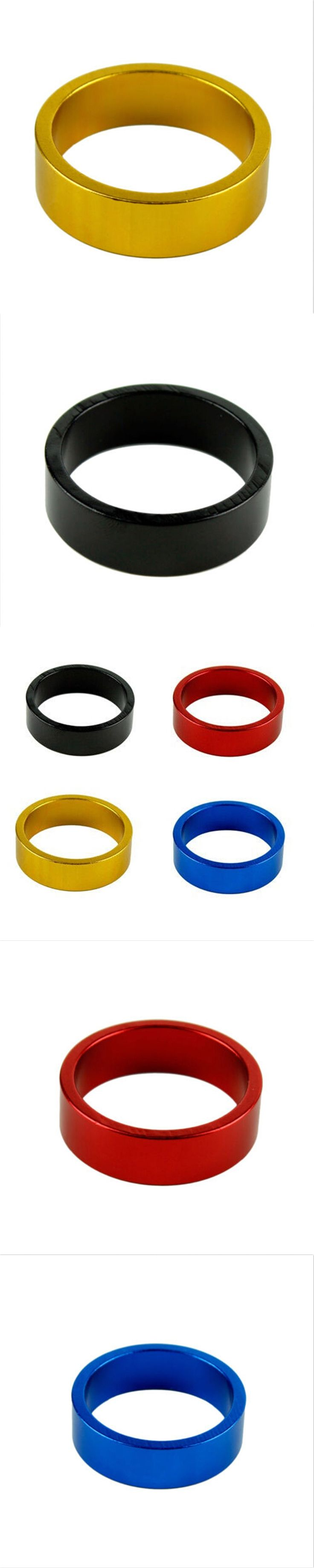New 10 mm Aluminum Mountain Road Bike Bicycle Cycling Headset Stem Spacer Bike Parts Accessories New Brand