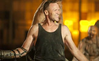 Q - Michael Rooker (Merle Dixon)  Always thought Michael Rooker was a fun actor.