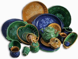 Barakonyi István népi iparművész kézműves kerámia termékei