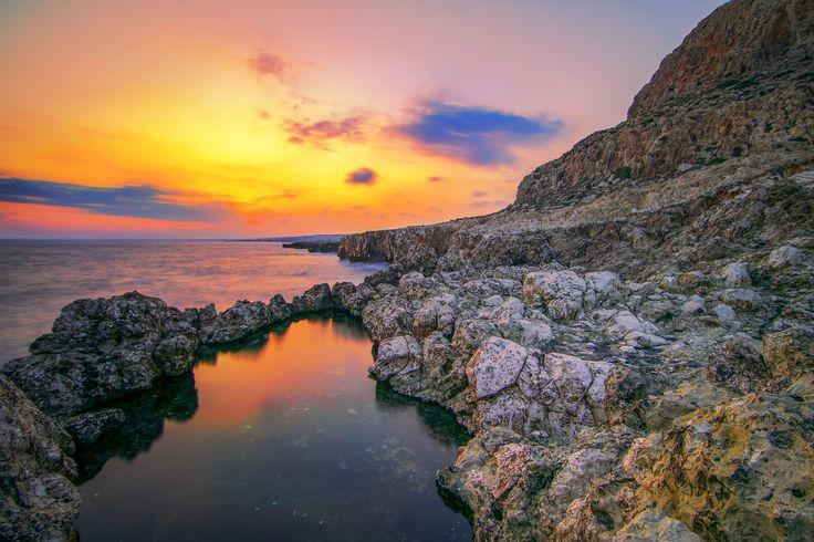 Red dusk by Pavlos M. Pavlou on 500px
