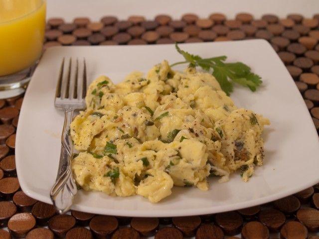 Spicy Scrambled Eggs