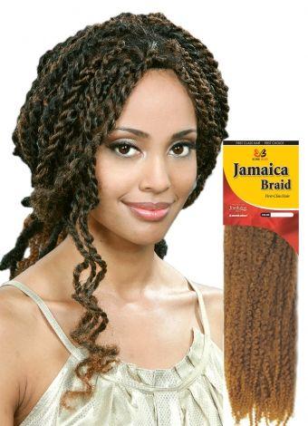 Bobbi Boss - Jamaica | Bulk Hair for Crochet Braids ... Jamaican Rope Twist Braids