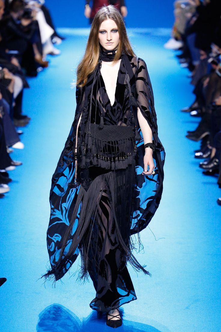 Elie Saab Fall 2016 Ready-to-Wear Fashion Show - fringes = twenties style