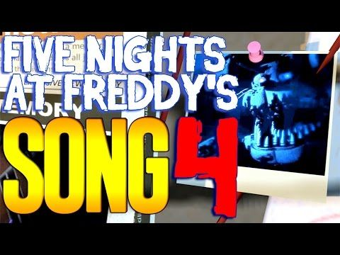 Five Nights At Freddy's 4 SONG 'Dream Your Dream' ANIMATED FNAF 4 - YouTube