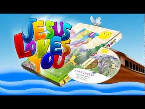 Jesus Loves You Personalized DVD This personalized DVD is a collection of 10 praise songs and verses personalized with your child's name 41 times! Cheery picturesque scenes and animated woodland characters combine with live action dance scenes that invite children to sing and dance along. This is the same music collection from our very popular personalized music CD with the same name. Order online at http://ift.tt/2nh0Cnu.