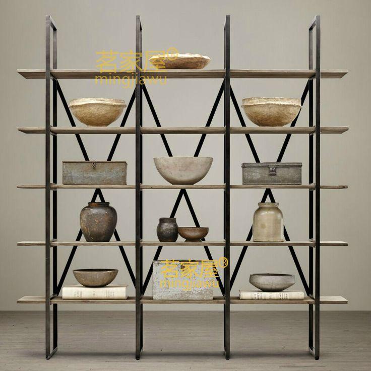 Barato Criativo sala prateleira de madeira prateleiras prateleira estante simples moderno prateleira de parede de ferro, Compro Qualidade Mesas para área externa diretamente de fornecedores da China: