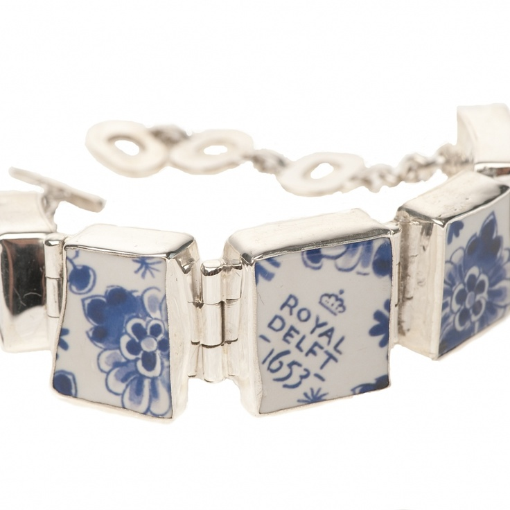 Lucky bracelet delft blue