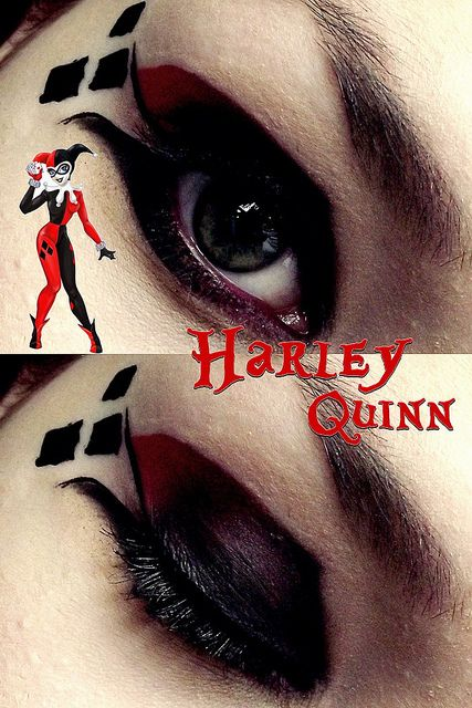 17 best images about harley quinn inspired make