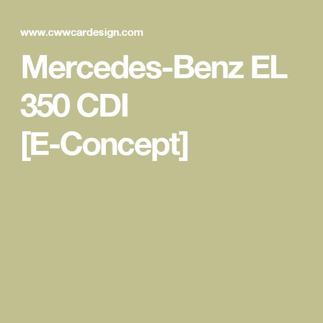 Mercedes-Benz EL 350 CDI [E-Concept]