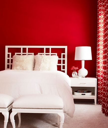 Red And White Bedroom Decorating Ideas Photo Decorating Inspiration
