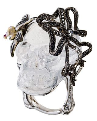 Skulls: #Skull, Lydia Courteille.