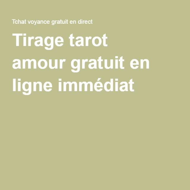 Tirage tarot amourgratuit en ligne immédiat