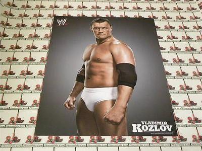 Vladimir Kozlov UNSIGNED 8x10 WWE Memorabilia Lane & Promotions