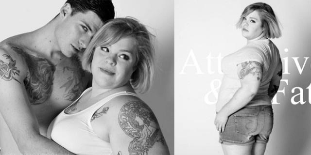 Abercrombie & Fitch...un brand adatto solo a donne magre e cool? La blogger non ci sta e crea una sua adv ironica e contro corrente