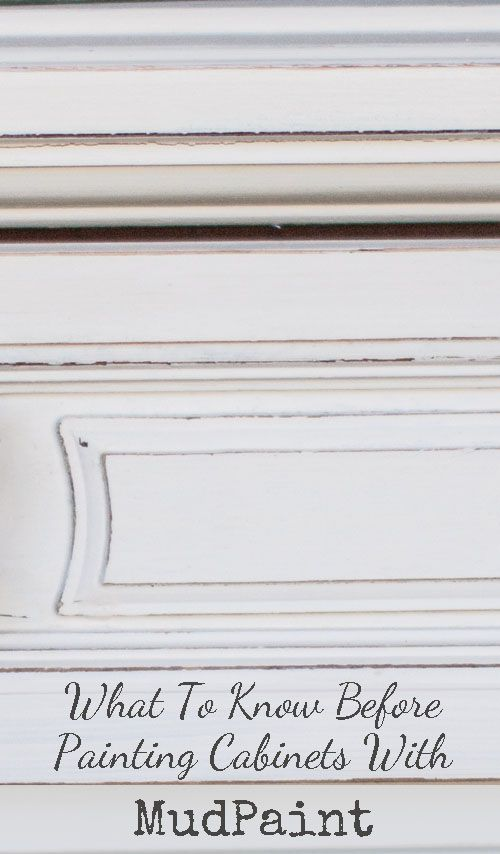 What To Know About Painting Cabinets With Mudpaint