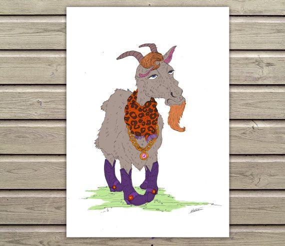 Printable Original Art  The Original Gaudy by SixDaysCreations