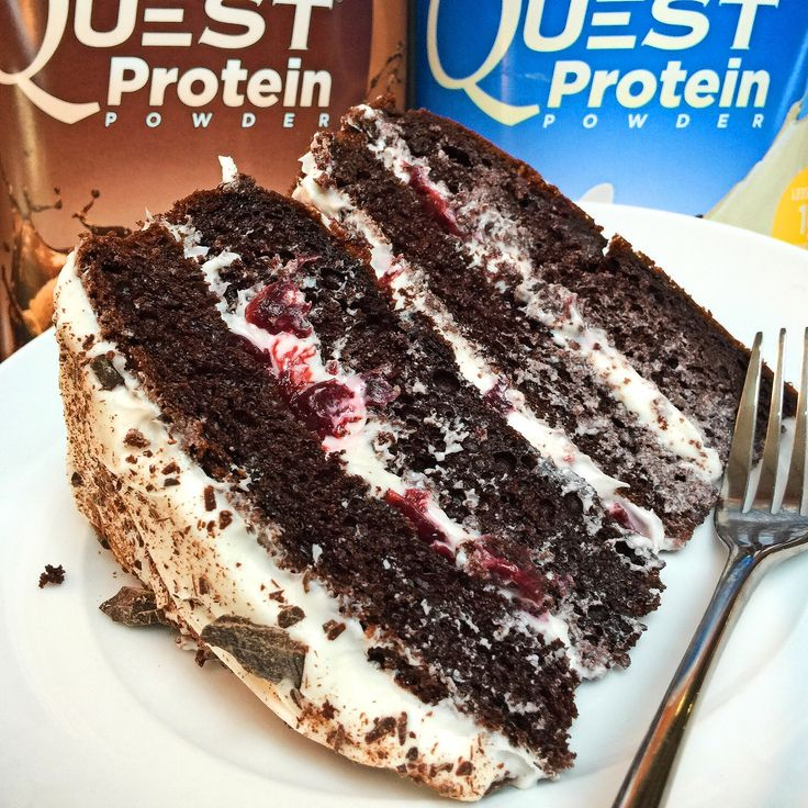 Black Forest Cake - All of the flavor, none of the lions, tigers or bears...oh my! #CookClean